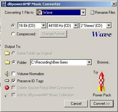 DMC Aux Input Options